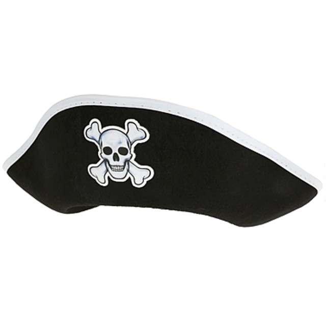 """Kapelusz """"Pirat"""", czarny, Godan"""