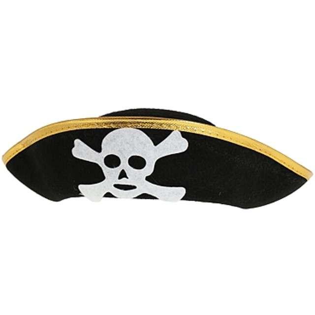 """Kapelusz """"Pirat Lux"""", czarny, Godan, rozmiar S"""