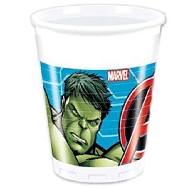 "Kubeczki plastikowe ""Mighty Avengers"", 200 ml, 8 szt"