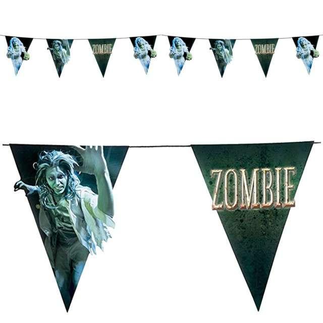 """Baner flagi """"Zombie"""", BOLAND, 4,0 m"""