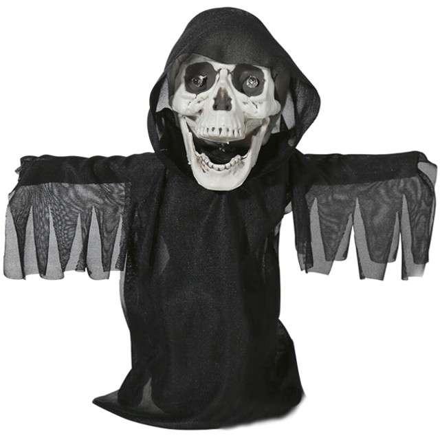 """Dekoracja """"Kostucha na Halloween"""", czarny, OOTB"""