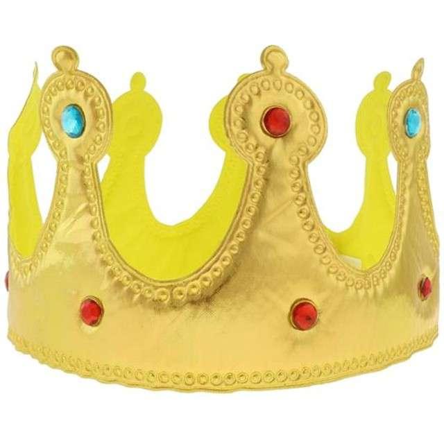 """Korona party """"Królewska"""", miękka, złota, GODAN"""
