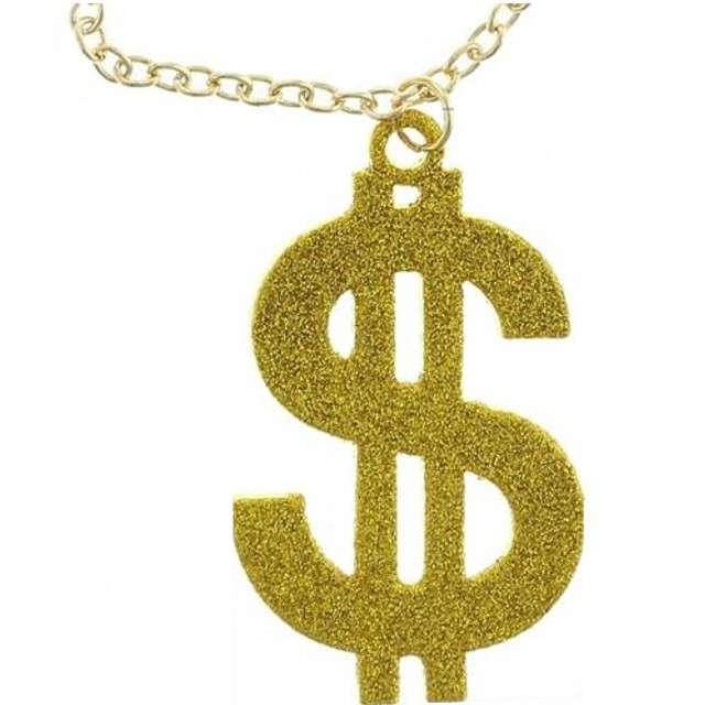 Naszyjnik Dolar Jumbo złoty Godan