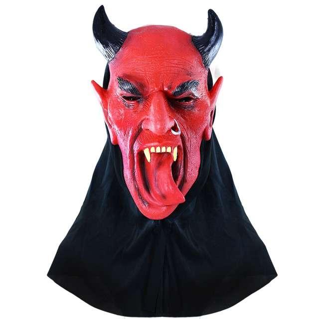 "Maska ""Diabeł"", PartyTino, lateksowa"