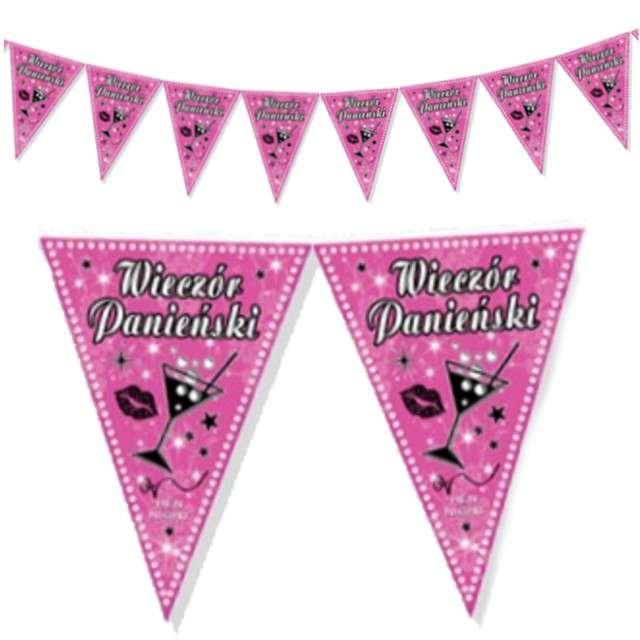 """Baner flagi """"Wieczór Panieński"""", różowy, 2 m"""