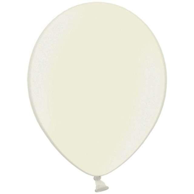 Balony Celebration Metalic kremowy jasny 10 100szt