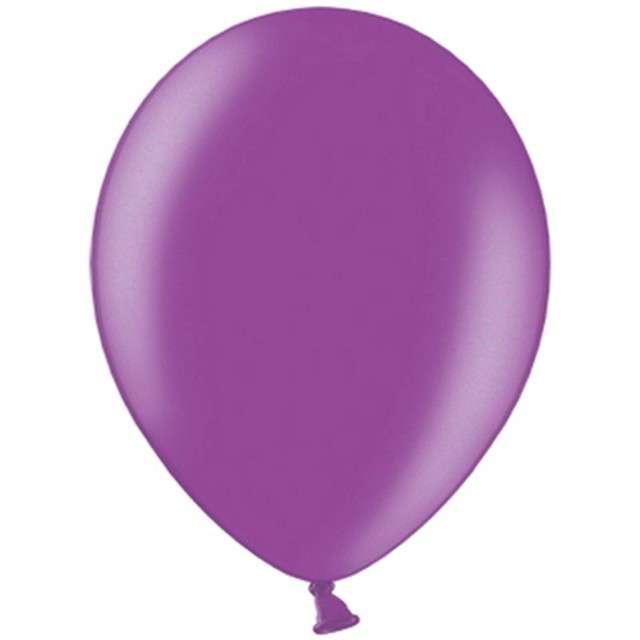 """Balony """"Celebration Metalic"""", fioletowa śliwka, 10"""", 100 szt"""