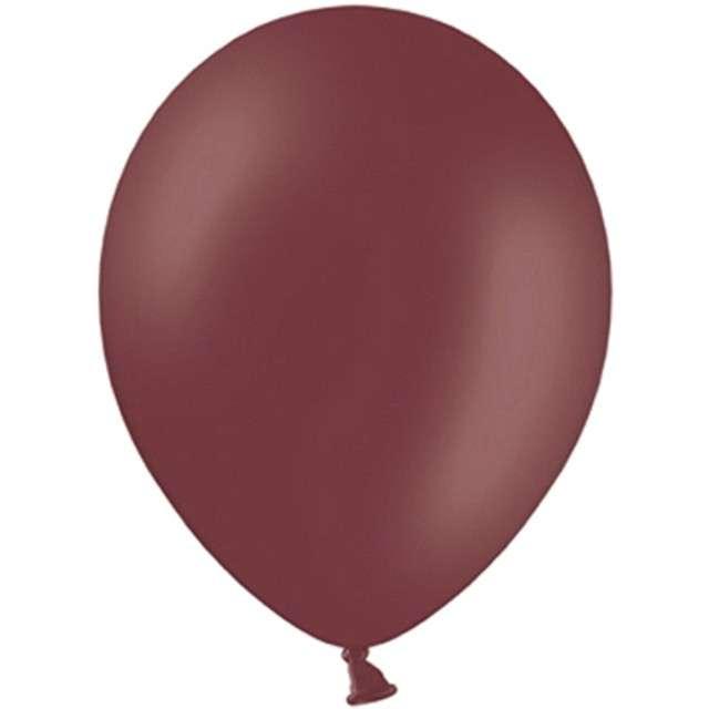 "Balony ""Celebration Pastel"", kasztanowy, 10"", 100 szt"