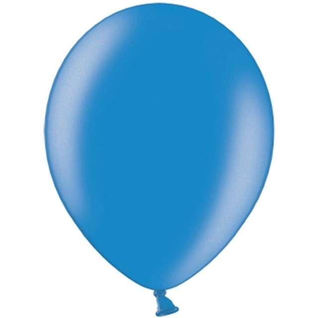 """Balony """"Celebration Metalic"""", niebieski, 12"""", 100 szt"""