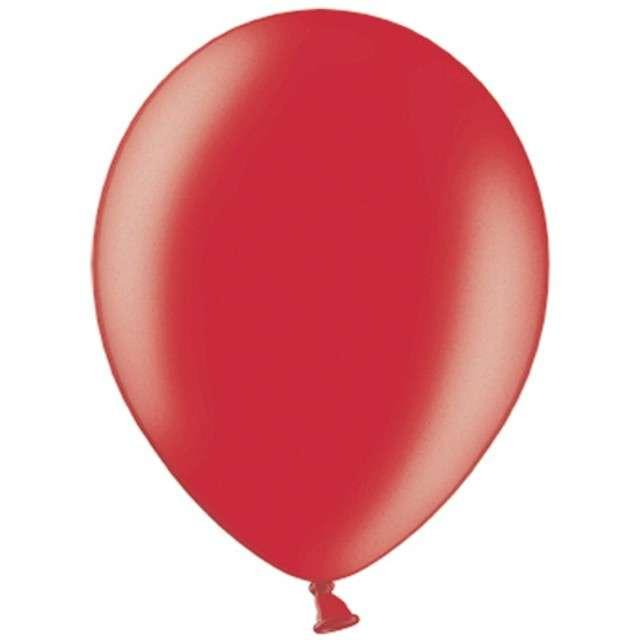 """Balony """"Celebration Metalic"""", czerwony, 12"""", 100 szt"""
