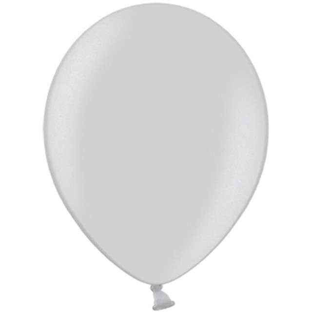 "Balony ""Celebration Metalic"", srebrny, 12"", 100 szt"