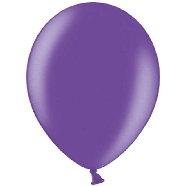 """Balony """"Celebration Metalic"""", purpurowy, 12"""", 100 szt"""