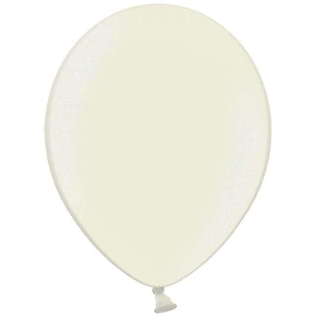 Balony Celebration Metalic kremowy jasny 12 100szt