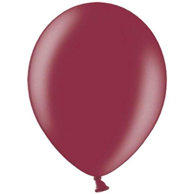 """Balony """"Celebration Metalic"""", kasztanowy, 12"""", 100 szt"""