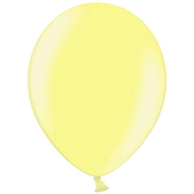"""Balony """"Celebration Metalic"""", żółty, 12"""", 100 szt"""