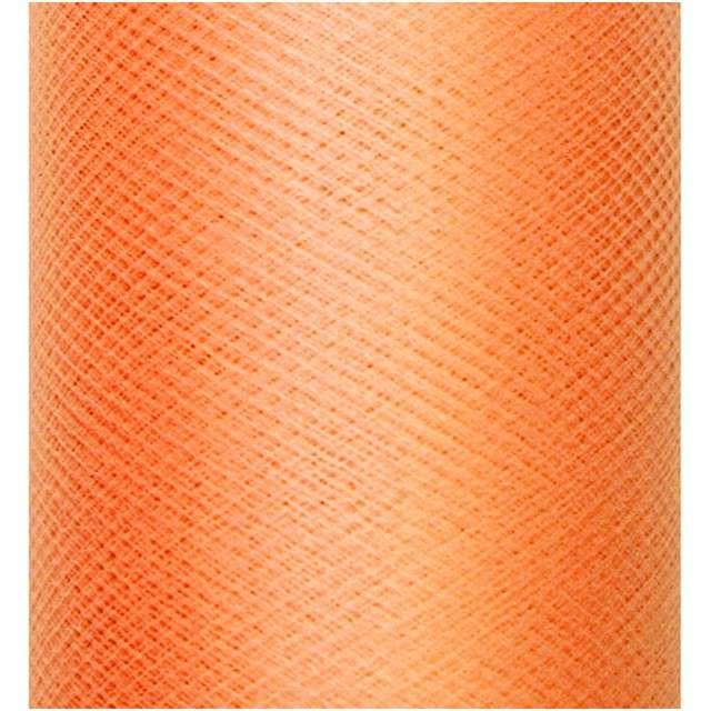 Tiul gładki, pomarańczowy, 0,3 x 50m, 1szt