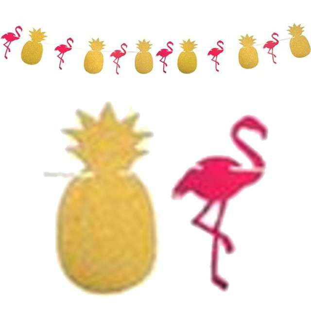 "Girlanda ""Flamingo Party"", Godan, 300 cm"