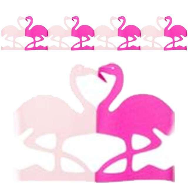 """Girlanda """"Flaming"""", różowa, Godan, 300 cm"""