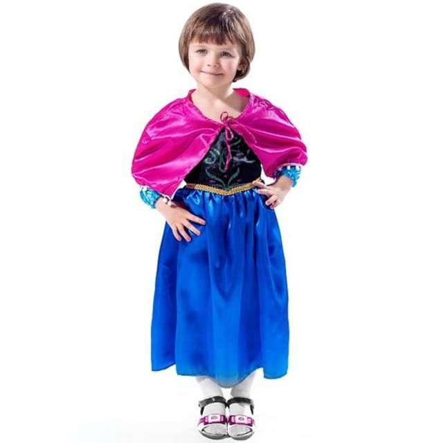 """Strój dla dzieci """"Księżniczka Ania"""", rozm. S (3-4 lata)"""