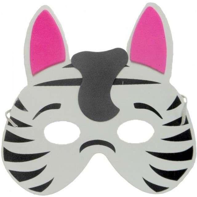 "Maska ""Zebra"", piankowa, Partytino"