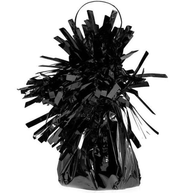 Obciążnik do balonów, foliowy, czarny
