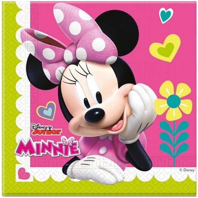 """Serwetki """"Minnie Happy Helpers"""", PROCOS, 33 cm, 20 szt"""
