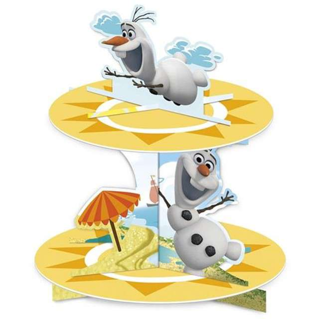 """Patera papierowa """"Bałwan Olaf - Frozen"""", Procos, 25 cm"""