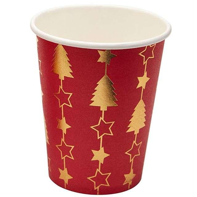 """Kubeczki papierowe """"Dazzling Christmas"""", Neviti, 230 ml, 8 szt"""