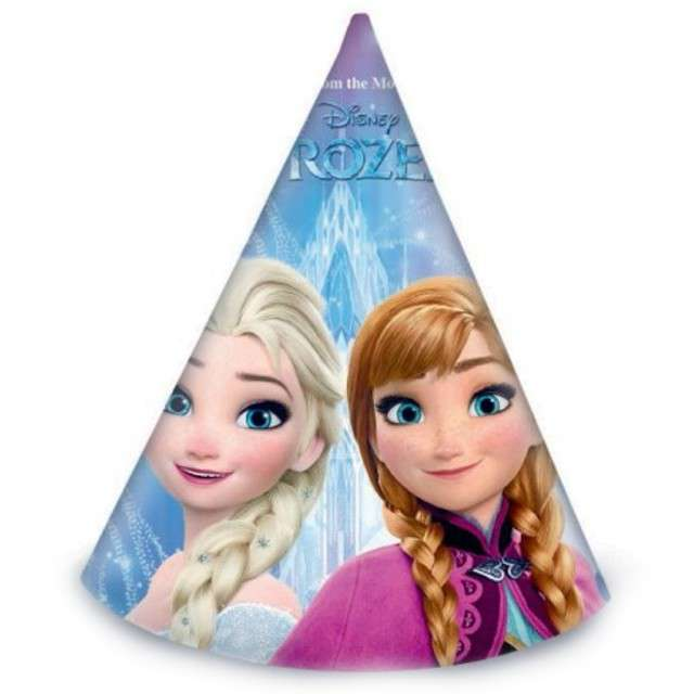 """Czapeczki papierowe """"Frozen - Kraina Lodu"""", PROCOS, 6 szt."""