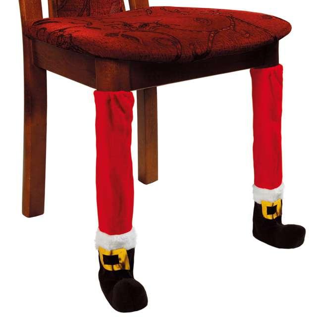 """Dekoracja """"Świąteczna ozdoba na krzesło/stół"""", Kraszek, 2 szt"""