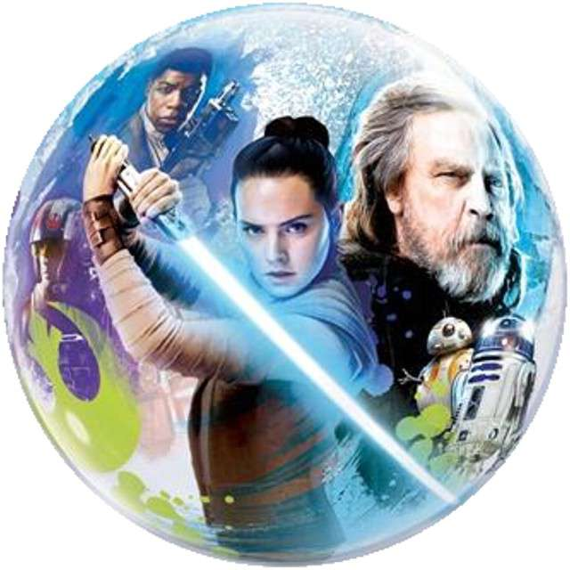 "Balon foliowy ""Star Wars - The Last Jedi"", QUALATEX, 22"" CIR"