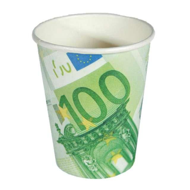 """Kubeczki papierowe """"100 EURO"""", OOTB, 10 szt"""