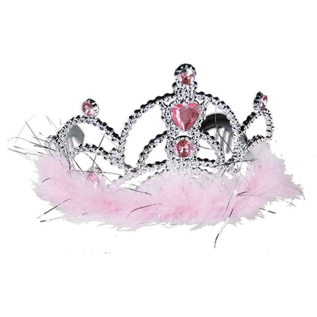 """Korona party """"Królewska"""", OOTB, różowa"""