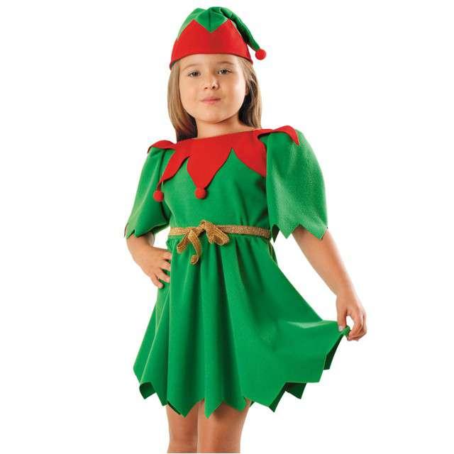 """Strój dla dzieci """"Elf Sukienka"""", KRASZEK, rozm. 110/116"""