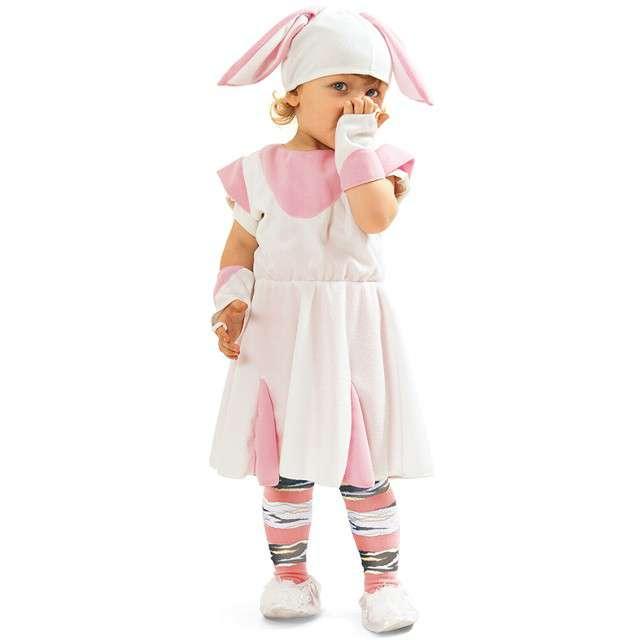 """Strój dla dzieci """"Króliczek sukienka"""", KRASZEK, rozm. 98/104 cm"""