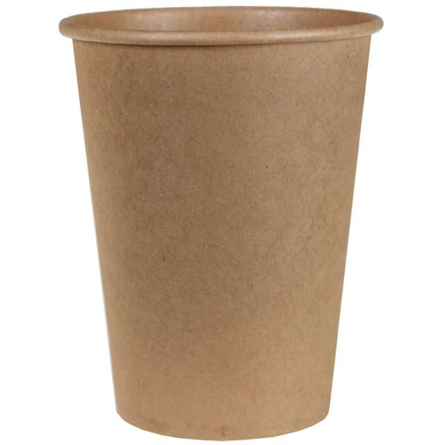 """Kubeczki papierowe """"Kraft, brązowe"""", SANTEX, 250 ml, 10 szt"""