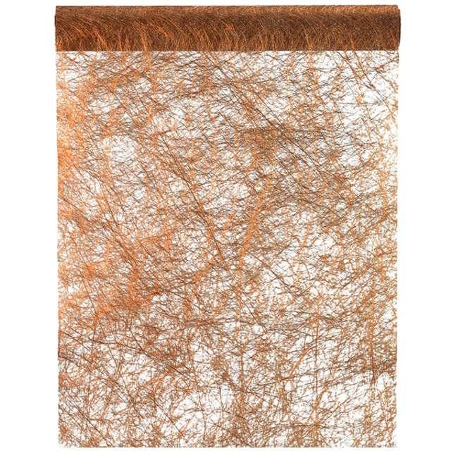 """Bieżnik """"Sizalowy metaliczny, rdzawy"""", SANTEX, 500 x 30 cm"""