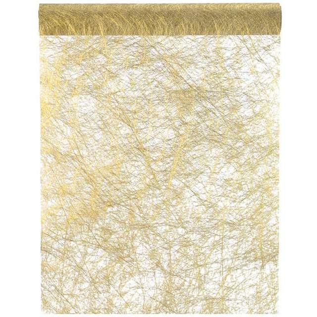 """Bieżnik """"Sizalowy metaliczny, złoty"""", SANTEX, 500 x 30 cm"""