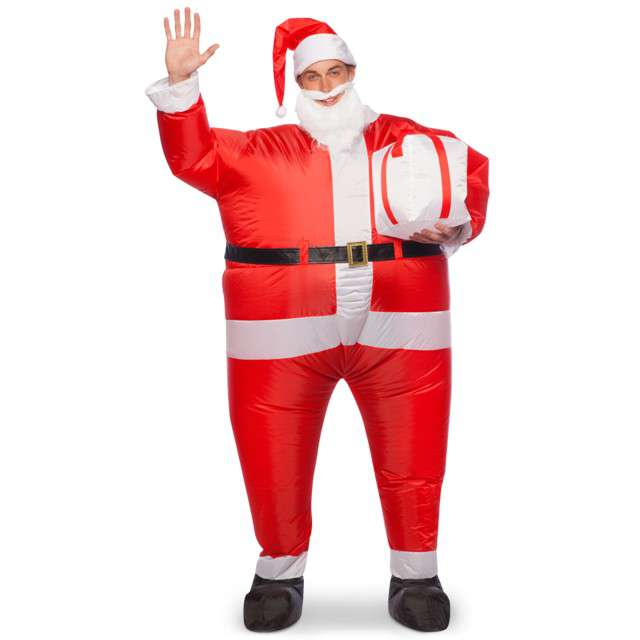 """Strój dla dorosłych """"Święty Mikołaj"""", FOLAT, nadmuchiwany"""