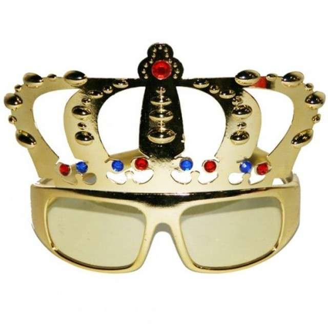 "Okulary party ""Król z Koroną"", FOLAT"