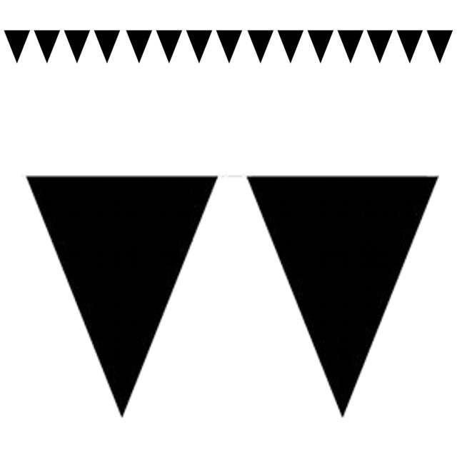 "Baner flagi ""Classic"", czarny, 1000 cm"