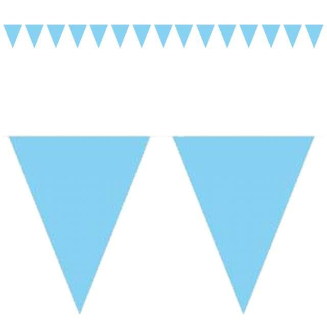 "Baner flagi ""Classic"", błękitne, 1000 cm"