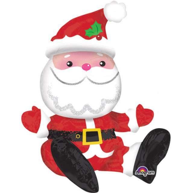 """Balon foliowy """"Święty Mikołaj"""", AMSCAN, 21"""""""