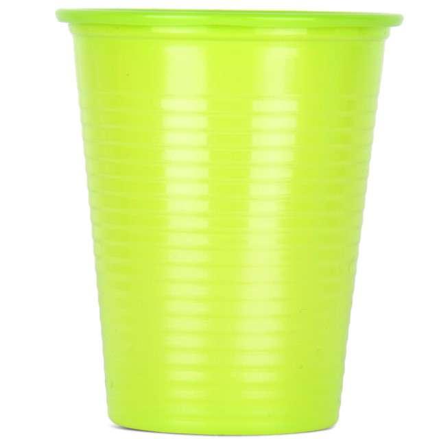 Kubeczki plastikowe 180 ml, ARPEX, zielone, 8 szt