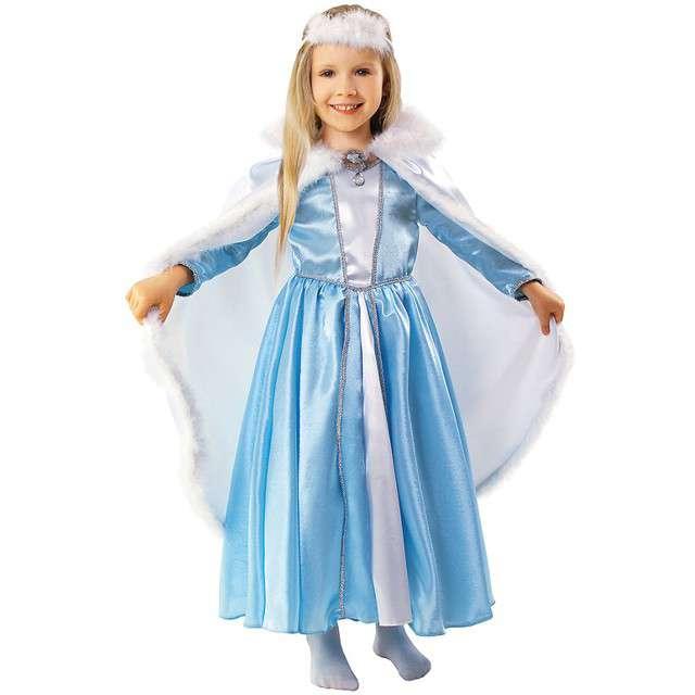 """Strój dla dzieci """"Królowa Śniegu"""", KRASZEK, rozm. 110/116 cm"""