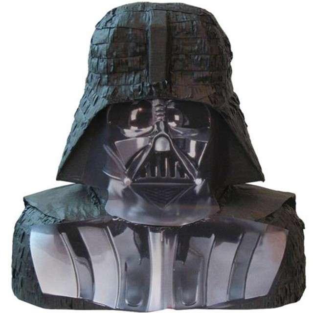 """Piniata """"Star Wars Vader 3D"""", Unique, 46 x 43 cm"""