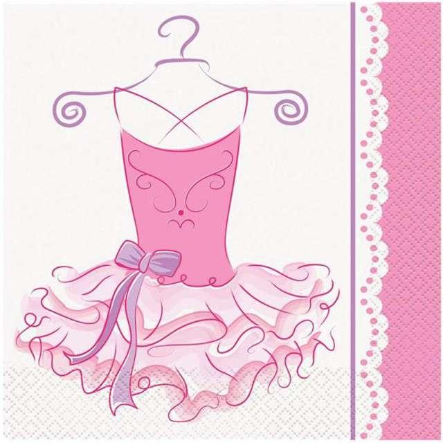 """Serwetki """"Balet"""", UNIQUE, 33 cm, 16 szt"""