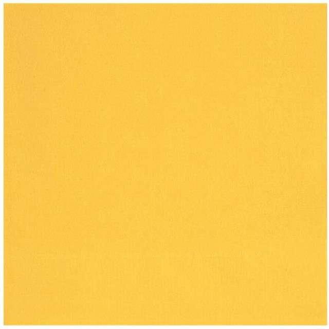 """Serwetki """"Classic"""", UNIQUE, żółte, 33 cm, 20 szt"""