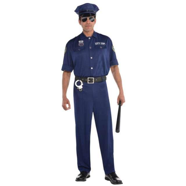 """Strój dla dorosłych """"Policjant"""", AMSCAN, rozm. M"""