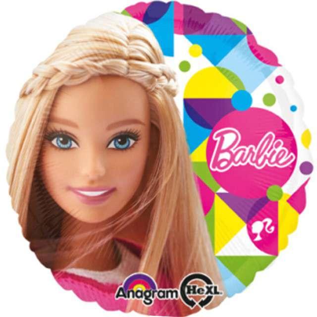 "Balon foliowy ""Barbie Sparkle"", AMSCAN, 17"" RND"